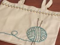 Авторская сумка в подарок для любителей вязания (8)