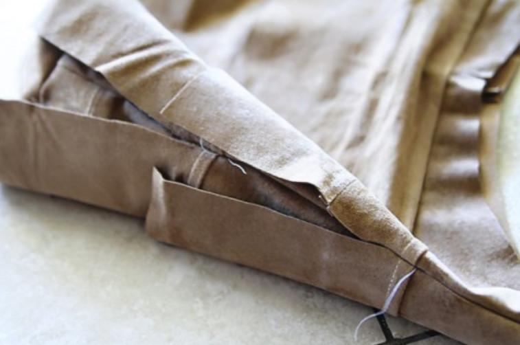 Сумка а-ля ковбой из старых штанов (7)