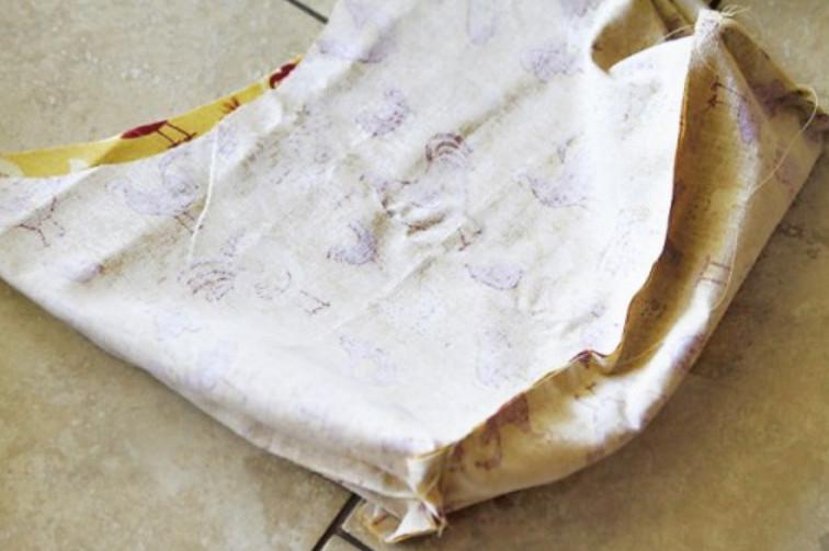 Сумка а-ля ковбой из старых штанов (5)