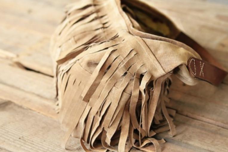 Сумка а-ля ковбой из старых штанов (2)