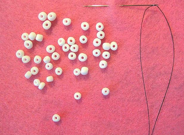Как сделать необычные текстильные бусины (7)