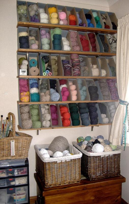 Как и где хранят пряжу для вязания (7)