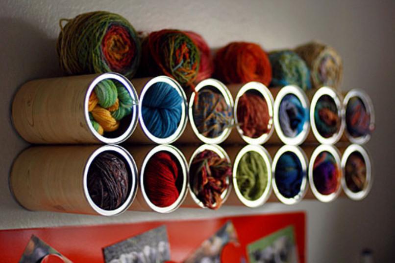 Как и где хранят пряжу для вязания (6)
