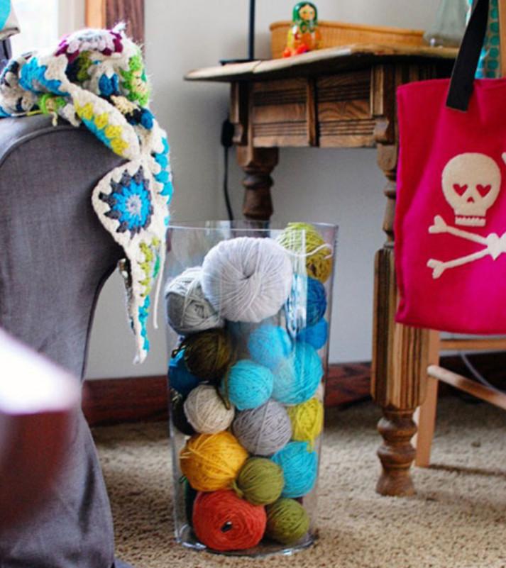 Как и где хранят пряжу для вязания (4)