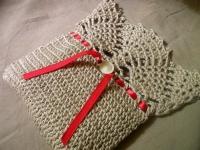 Вязаная малеькая сумочка (2)