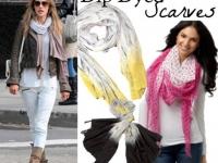 Как сделать шарф с оттенком (5)