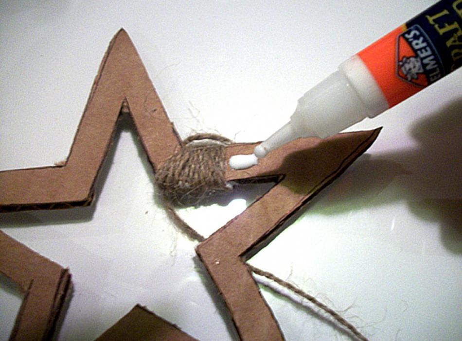 Как сделать новогоднюю звезду (3)