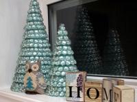Гламурная настольная новогодняя елка (1)