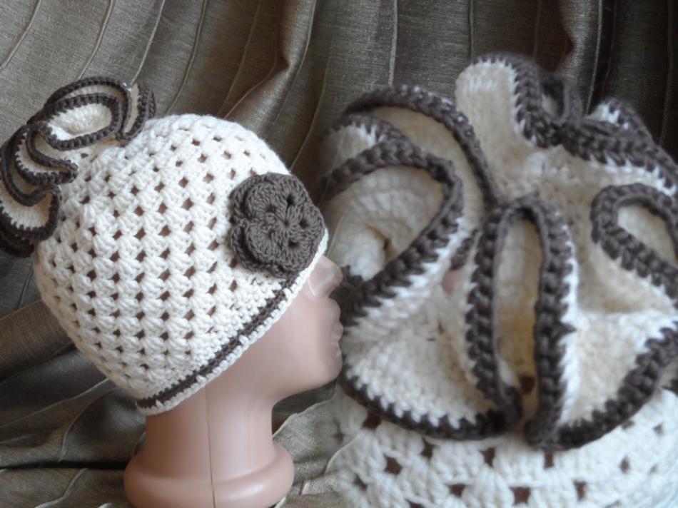 Шапочка для девочки Белочкины хвостики (1)