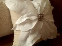 Диванная подушка Рождественская звезда (1)