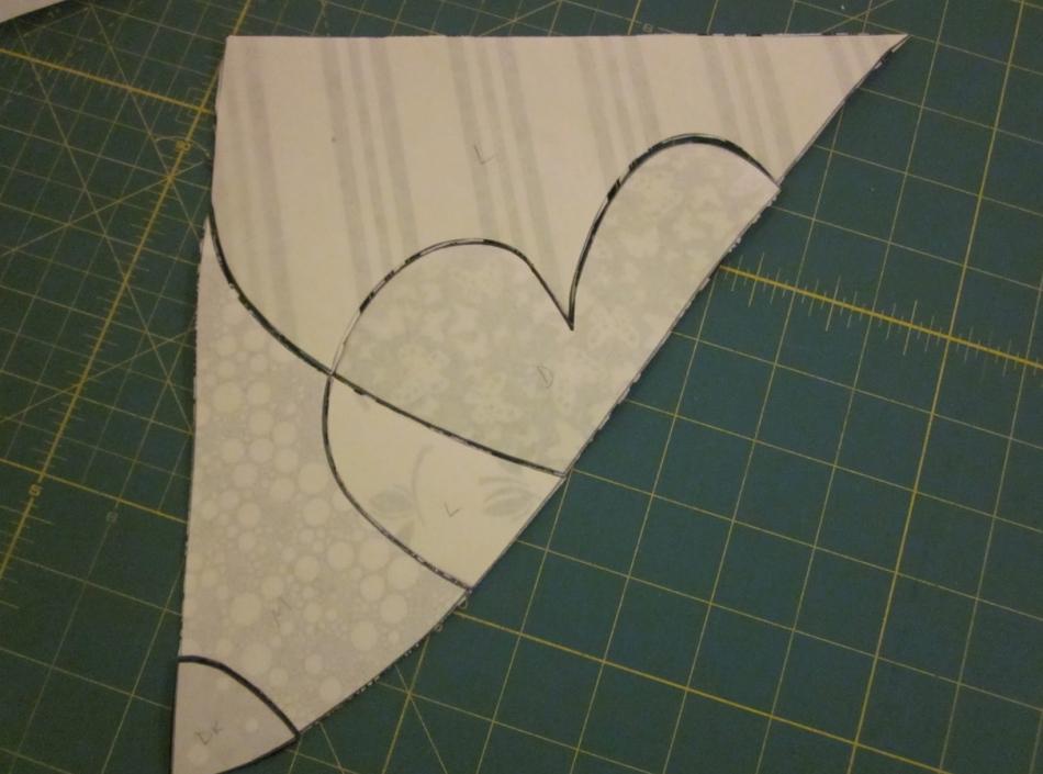 Как сшить черно-белое тканевое панно (7)