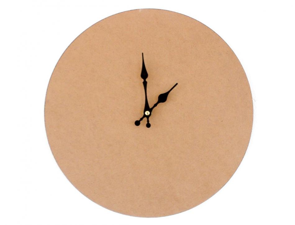 Делаем часы для поклонников вязания (15)