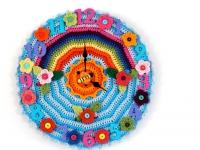 Делаем часы для поклонников вязания (8)