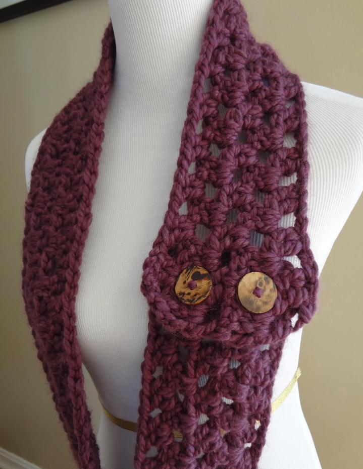 Как связать самый легкий шарф-снуд (4)