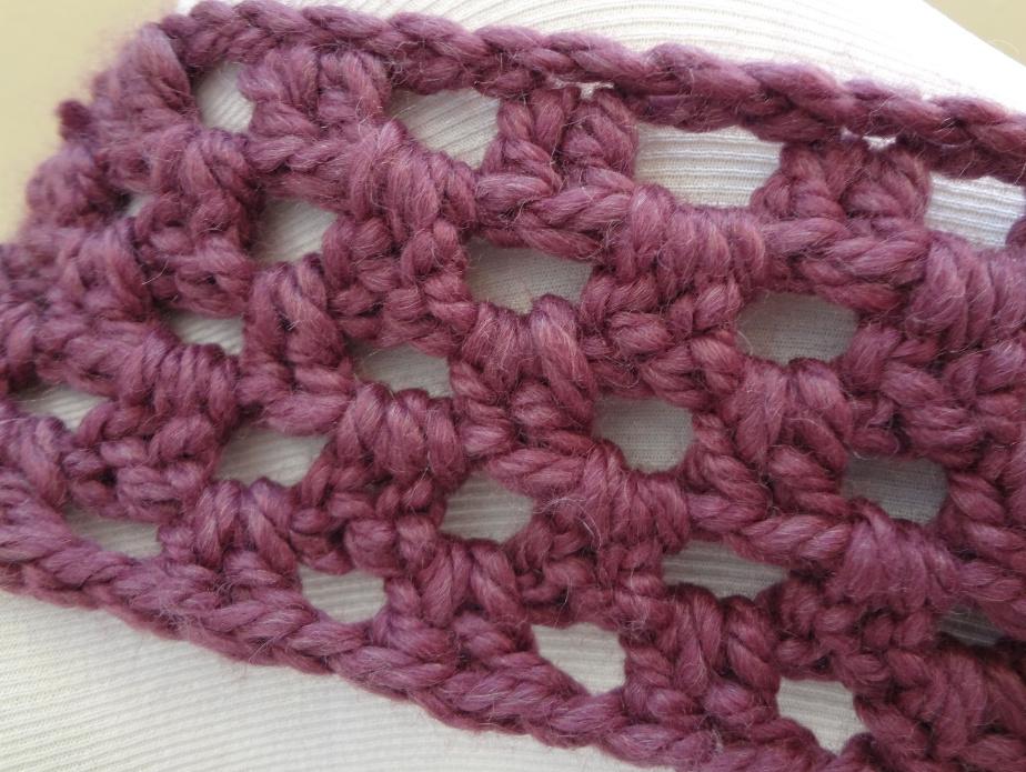 Как связать самый легкий шарф-снуд (2)