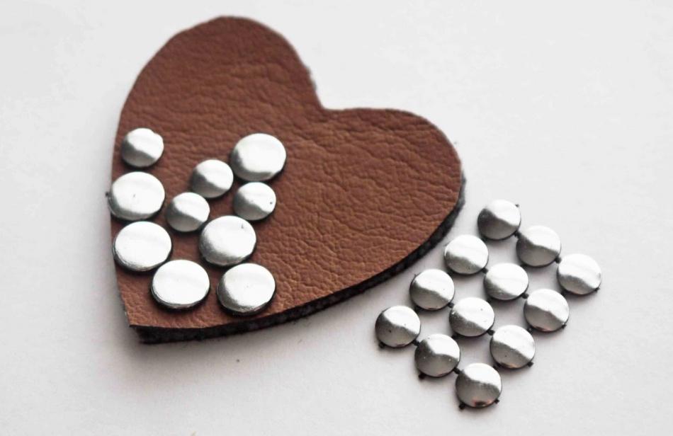 Брошь-сердце ко дню Святого Валентина (9)