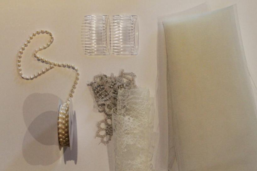 Фата для невесты своими руками (1)