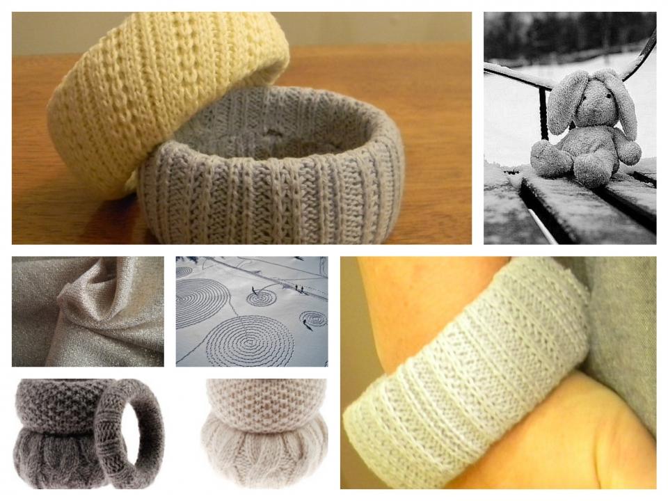 А сегодня мы расскажем как сделать из старого пуловера браслет. и даже. и. Не смотря на снежные заносы...
