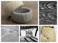 Браслет из старого пуловера (13)