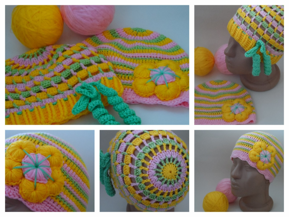 Две шапочки под названием Краски наступающего лета (продолжение) (10)