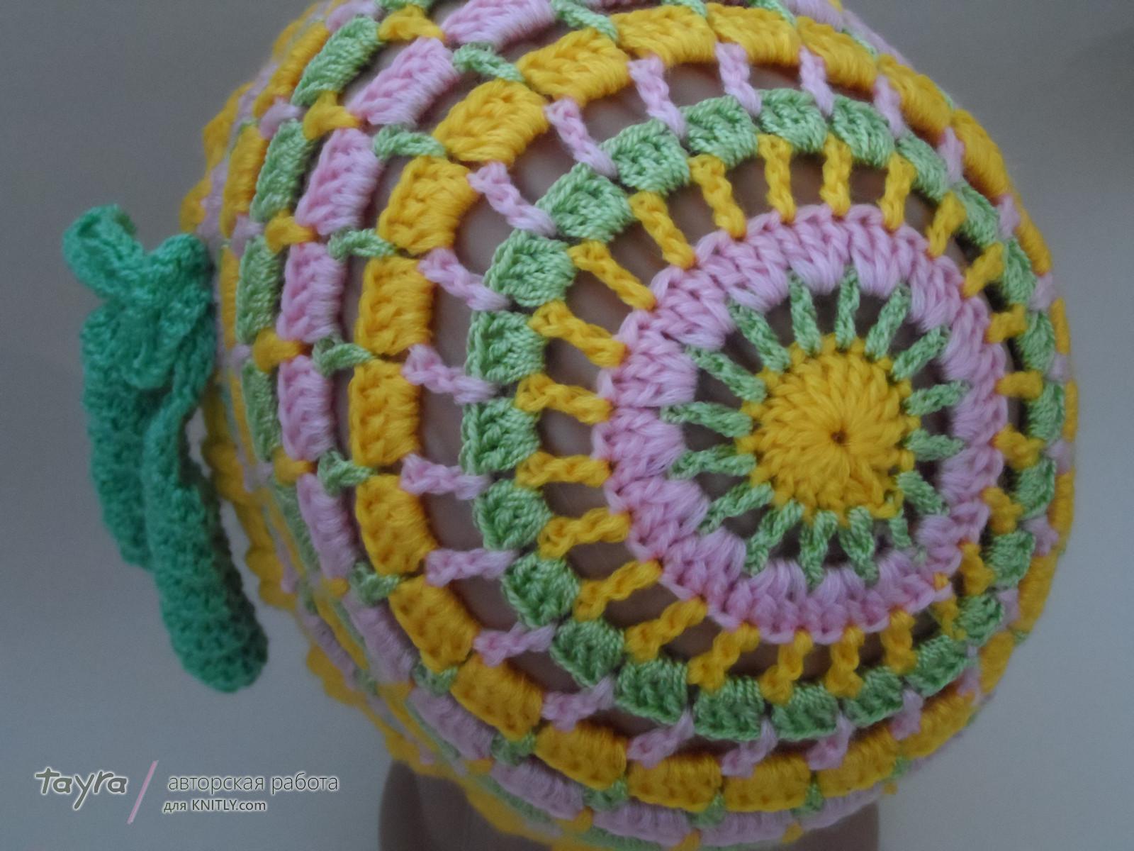 Две шапочки под названием Краски наступающего лета (продолжение) (2)