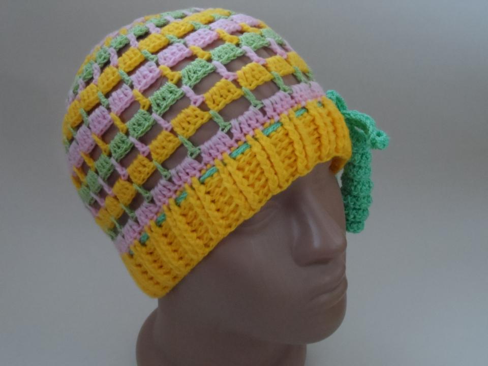 Две шапочки под названием Краски наступающего лета (продолжение) (1)