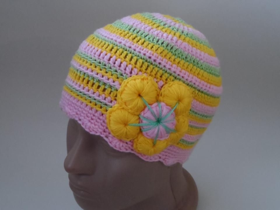 Две шапочки под названием Краски наступающего лета (5)