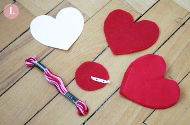 Брошь из слоеного сердца (5)