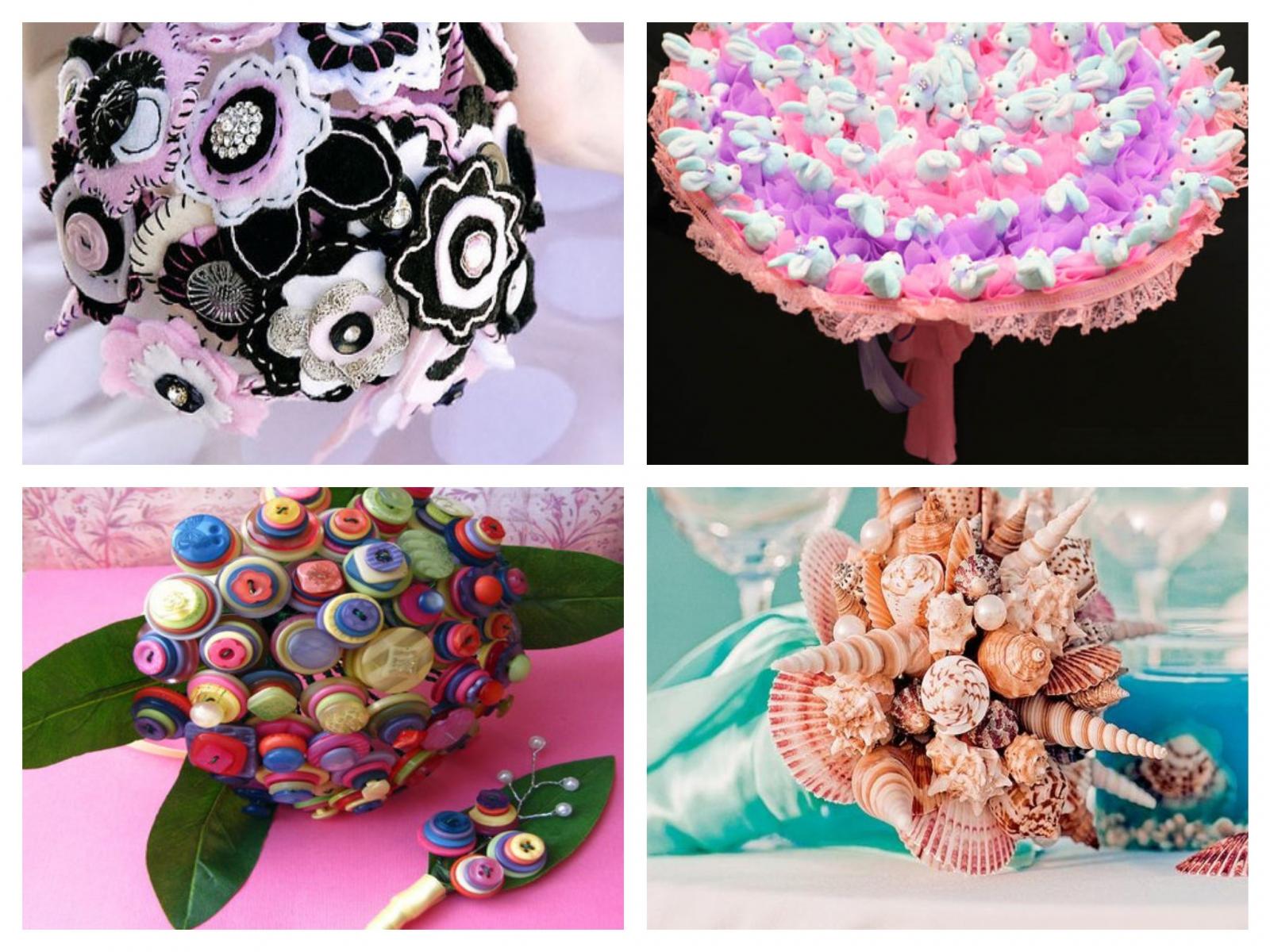 Что сделать из цветов из ткани