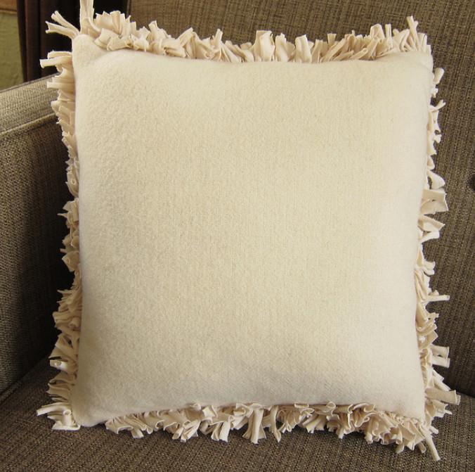 Наволочка для диванной подушки из мягкого трикотажа (9)