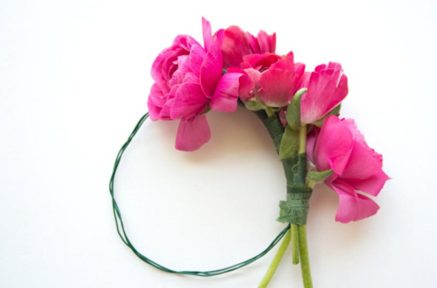 Цветочный летний браслет (6)