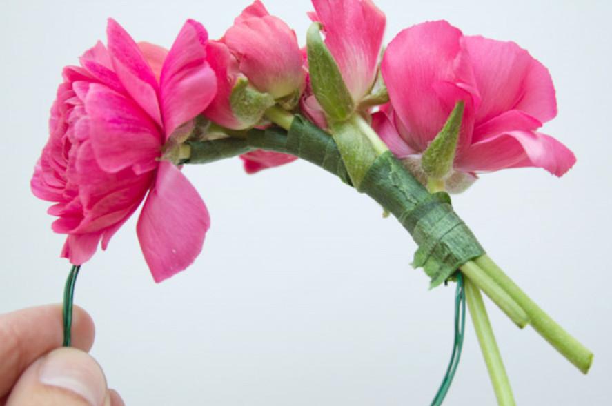 Цветочный летний браслет (5)