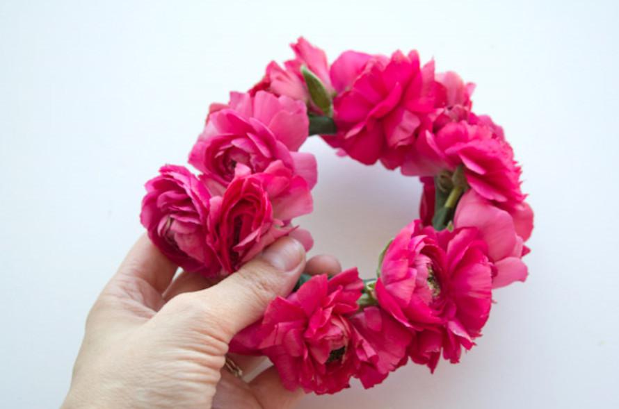 Цветочный летний браслет (3)