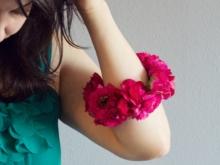 Цветочный летний браслет (1)