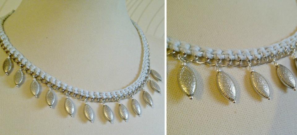 Вязаное украшение с восточным колоритом (1)