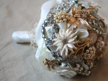 Свадебный букет в стиле винтаж (10)