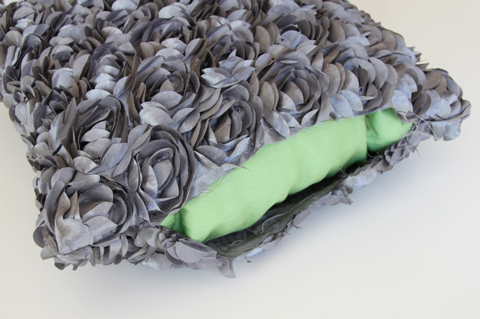 Цветочная декоративная диванная подушка (6)