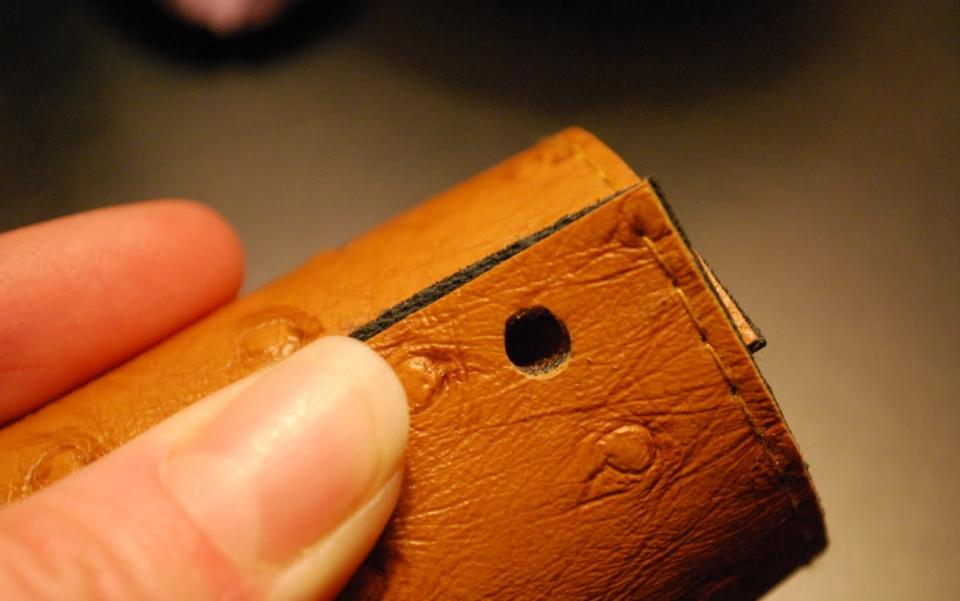 Кожаные кольца для салфеток (7)