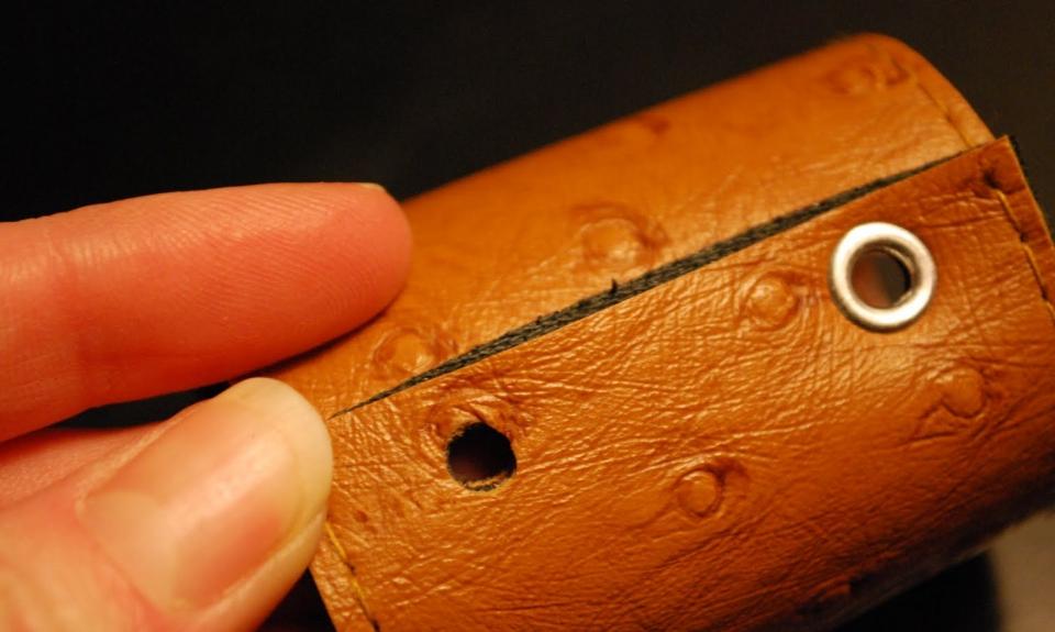 Кожаные кольца для салфеток (5)