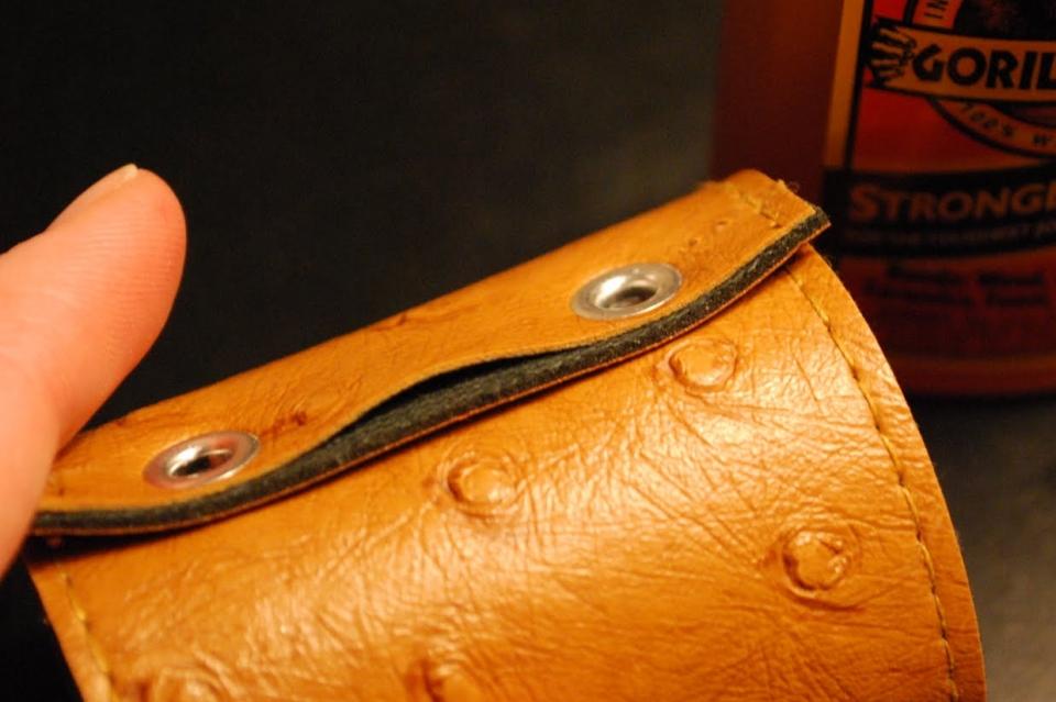 Кожаные кольца для салфеток (3)