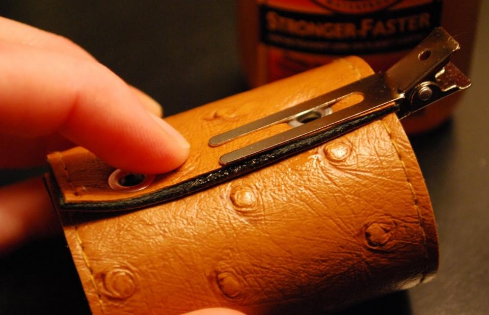 Кожаные кольца для салфеток (2)