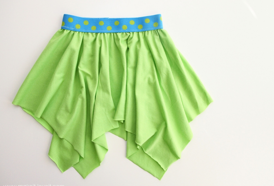 Для начинающих шить: детская юбка (7)