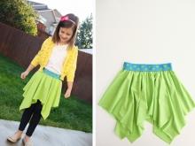 Для начинающих шить: детская юбка (5)