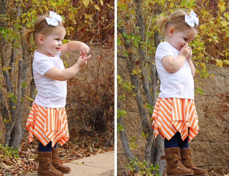 Для начинающих шить: детская юбка (2)