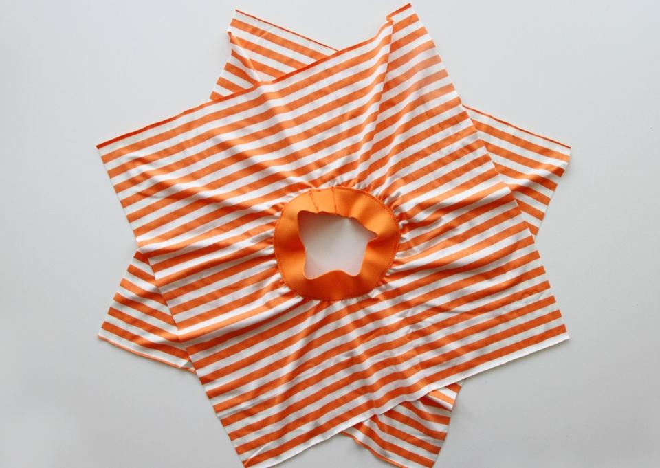 Для начинающих шить: детская юбка (1)