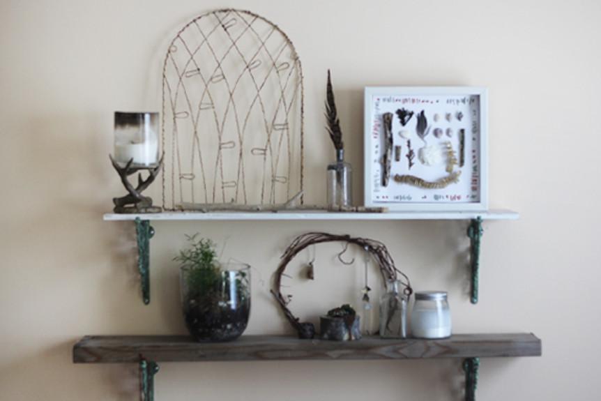 Декор интерьера: рамка в стиле этно (1)