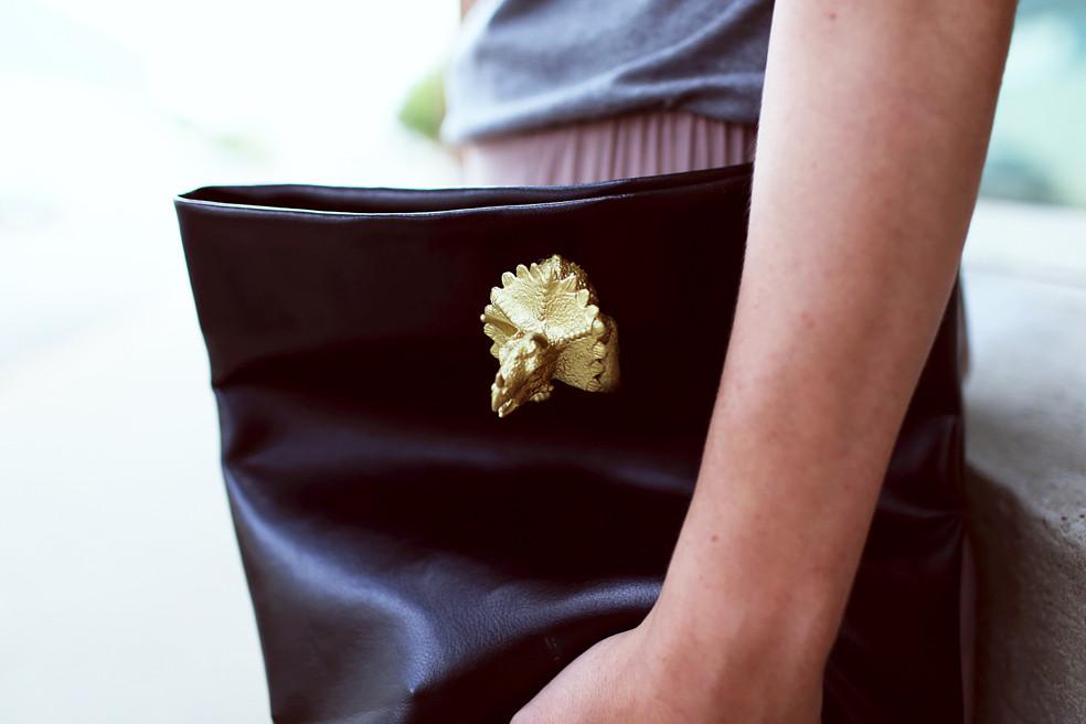 Кожаная сумка под названием Трицератопс (6)