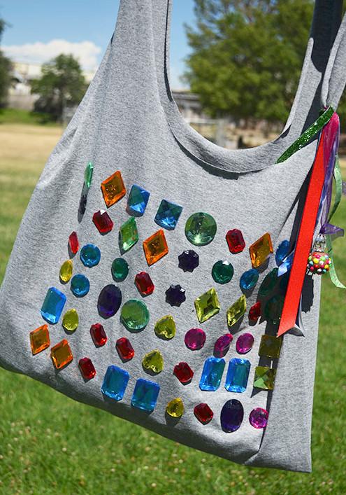 Сумка-торба из трикотажной футболки (10)