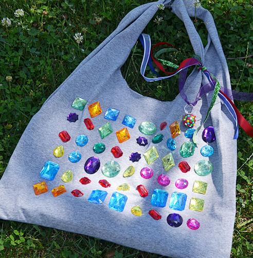 Сумка-торба из трикотажной футболки (9)