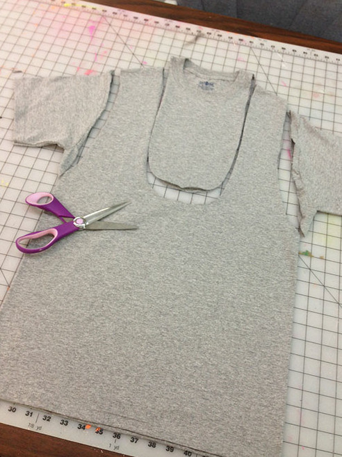 Сумка-торба из трикотажной футболки (3)